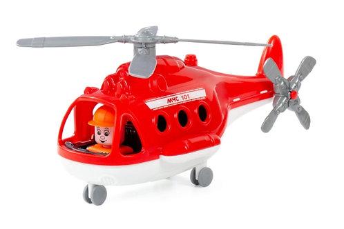 16-142-90 Вертолёт пожарный Альфа (в сеточке)(П)