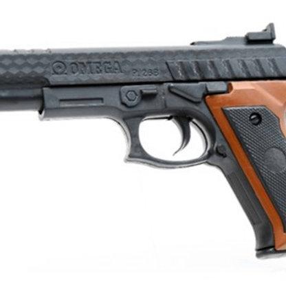 11-282-34 Пистолет. длина ствола 22.7 см. в/п 26*16*5 см.