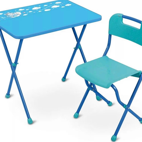 17-916 Комплект детский АЛИНА (скл.ст.+пласт.стул)