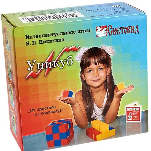 59-004 Игра развивающая Уникуб(картонная коробка)