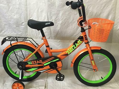 17-121-41 Велосипед детский 16 ZIGZAG CLASSIC оранжевый