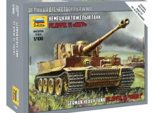 32-6256 Немецкий тяжелый танк Тигр (Звезда)