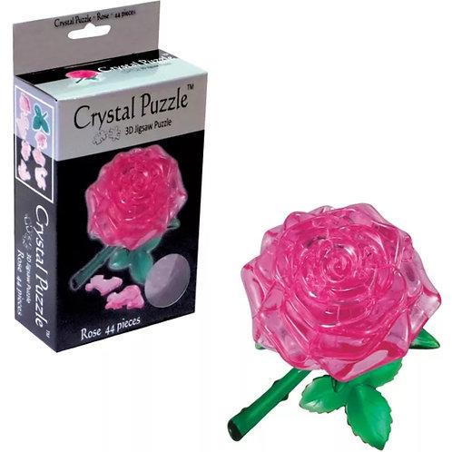 10-281 Crystal Puzzle Пазл 3D Роза 44 дет в кор 18*14*6