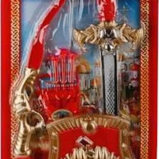 14-197-54 НАБОР ОРУЖИЯ ИГРАЕМ ВМЕСТЕ ТРИ БОГАТЫРЯ