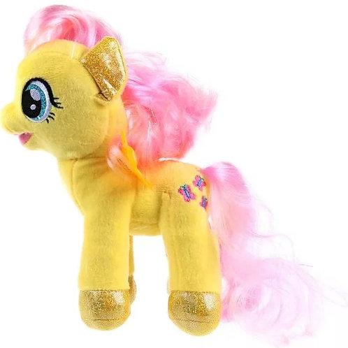 04-250-96 Игрушка мягкая Мой маленький пони Флаттершай. 18см