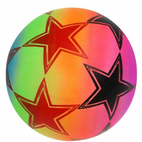 25-278-30 Мяч детский Футбол неон 22 см