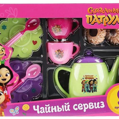 14-723 Чайный сервиз Сказочный патруль 9 предметов в русс.