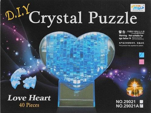 10-280-6 Crystal Puzzle Сердце