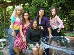 The cast of Now En Español