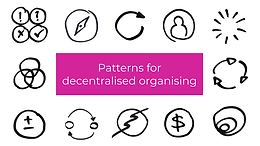 Group B: Patterns for Decentralised Organising Guided Program