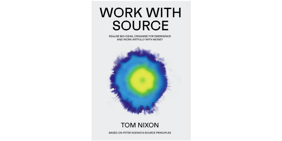 Work with Source and Teal Organisations (April)