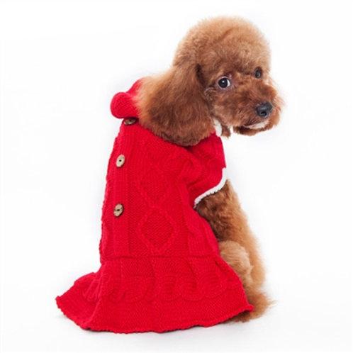 hoodie sweater dog dress