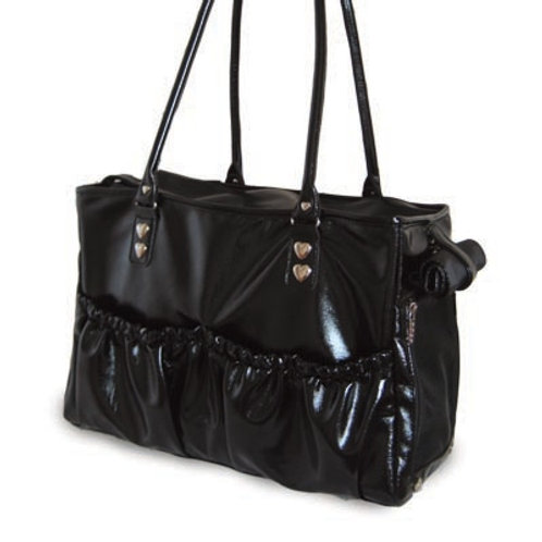 Lux Faux Leather Tote