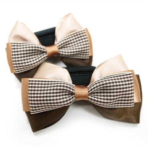 brown easybow dog bow