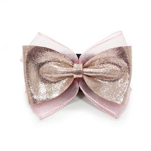 glitter dog bows