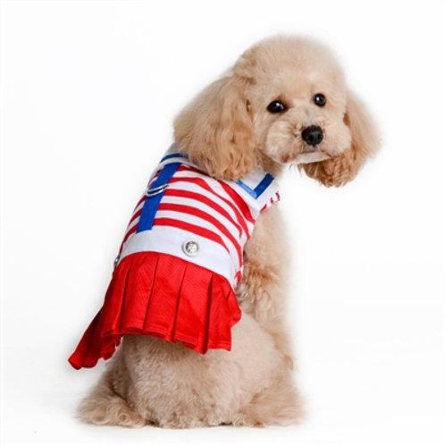 nautical sailor dog dress