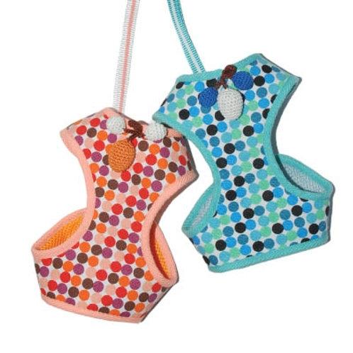 Polka Dot Dog Harness