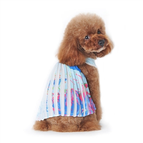 PP Hawaii Pleated Dress