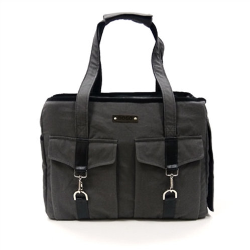 Buckle Tote V2 - Charcoal