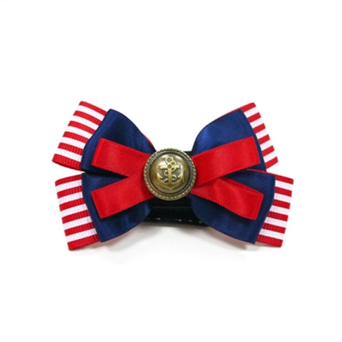 easybow red, white and blue dog bow
