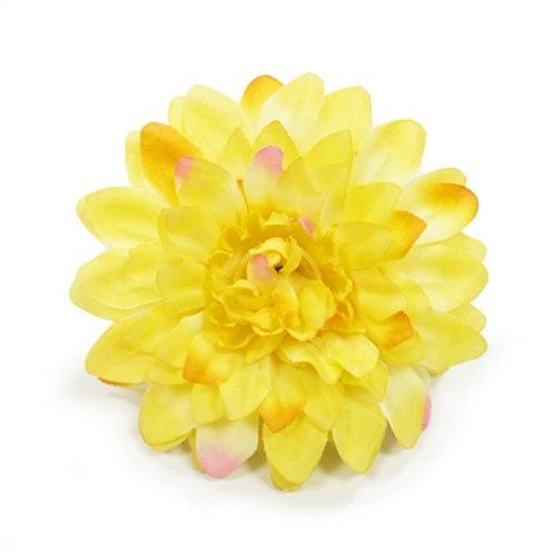 yellow easybow flower dog bow
