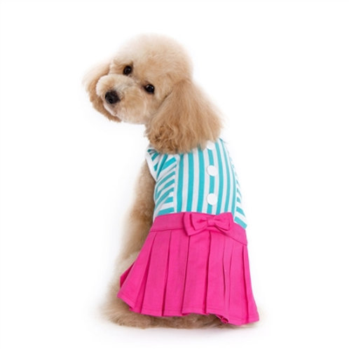 cute pink dog dress