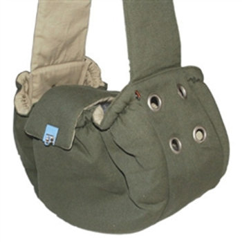 DOGO Army Green Messenger Bag