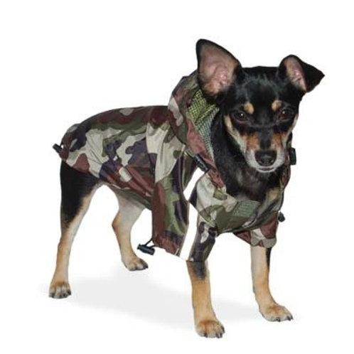Army Camo Raincoat