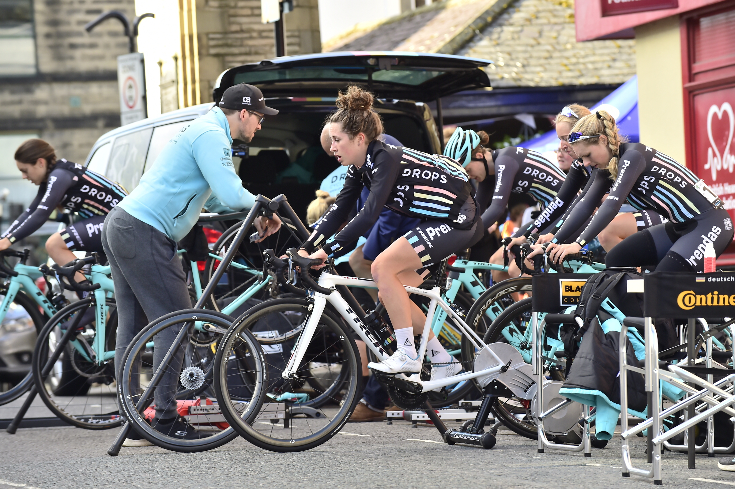 Drops Cycling Team at the Otley GP