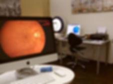 Untersuchungsraum 3 der Augenarztpraxis Talgut in Ittigen bei Bern, augenarzt-ittigen-bern.com