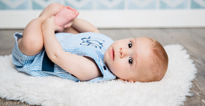 Baby L | Six Month Milestone- Portrait Photography