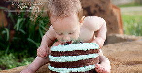 Liam is One! | Lubbock Portrait Photographer