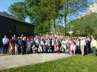 Visite de nos amis  Karbenois en 2016