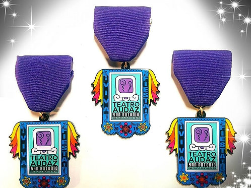 Teatro Audaz Fiesta Medal