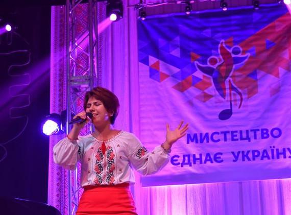 """Обласний конкурс """"Нова українська пісня"""", Махаррамова Марьям"""