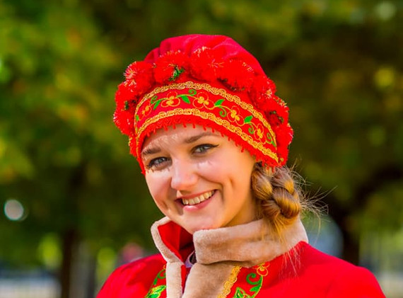 "Студентка Коледжу, Катерина Осипченко приймає у часть у заході ""В гостях у Солохи"""