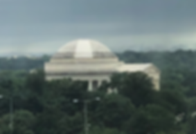 test clean Jefferson memorial - biofilm.