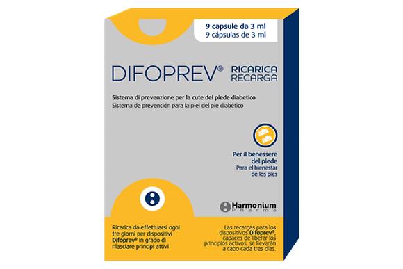 Difoprev recargas