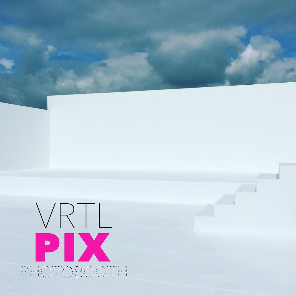 Best Photo booth Rental Miami Beach white Backdrop