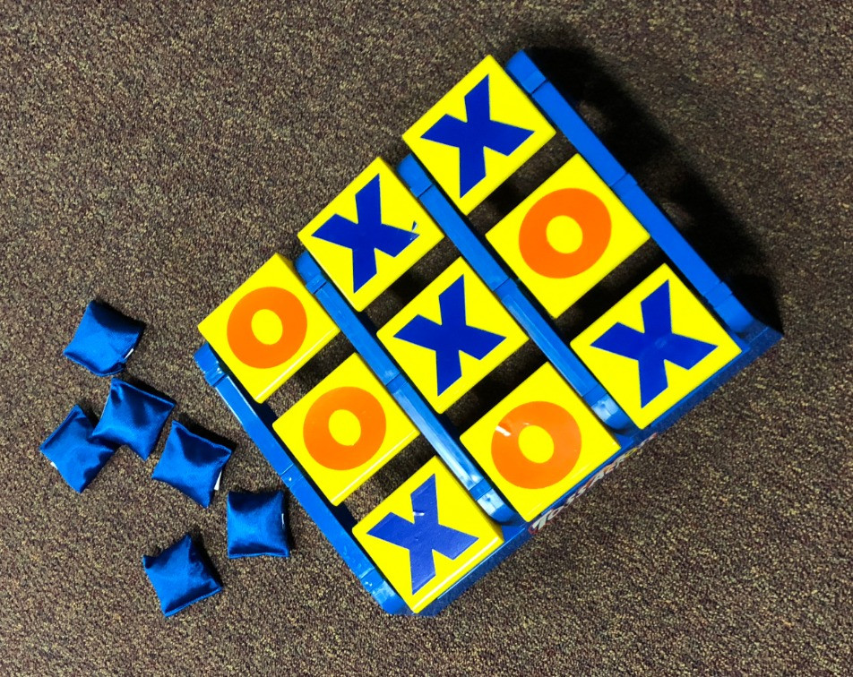 Tic Tac Toss Kids Game