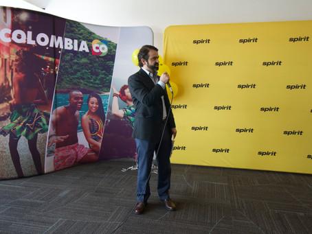 Spirit Airlines Feria de las Flores with ProColombia