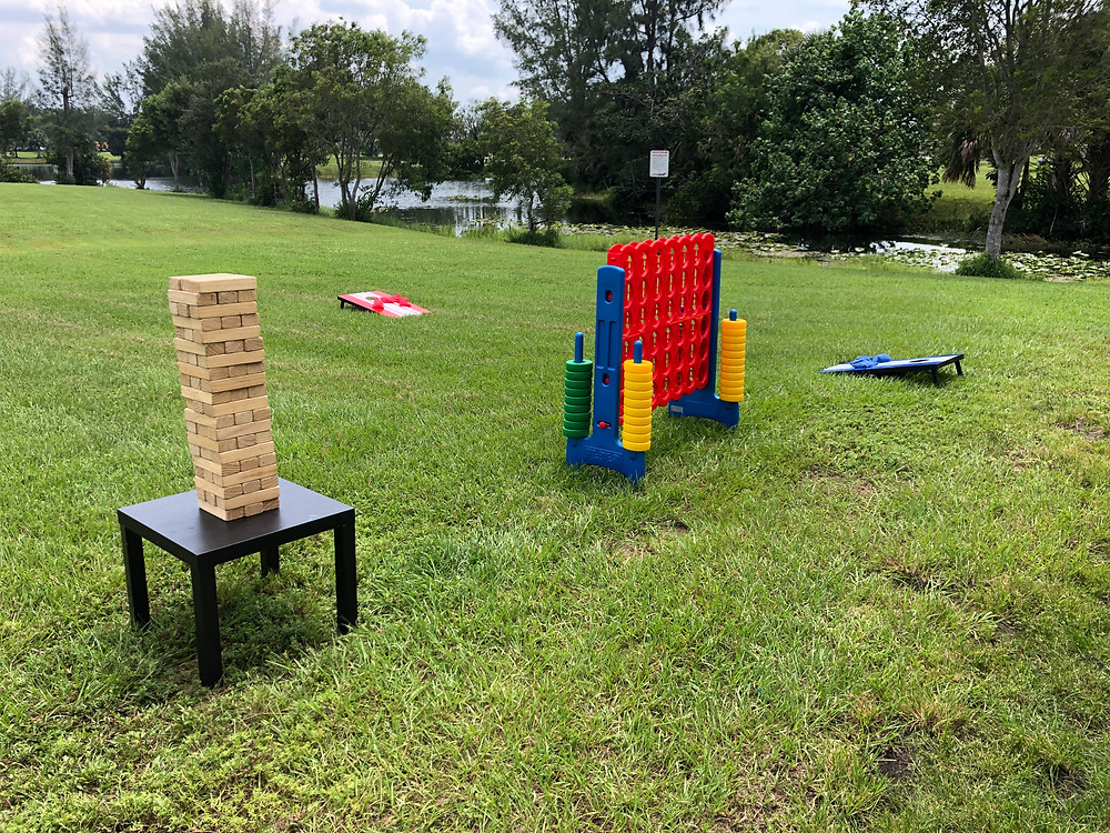 Jumbo Lawn Games for Rent 305-741-5028