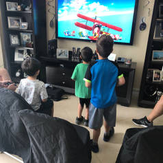 At Home Video Game Party 305-741-5028