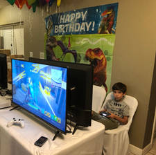 Video Game Party at Home