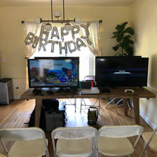 Birthday game bus 305-741-5028