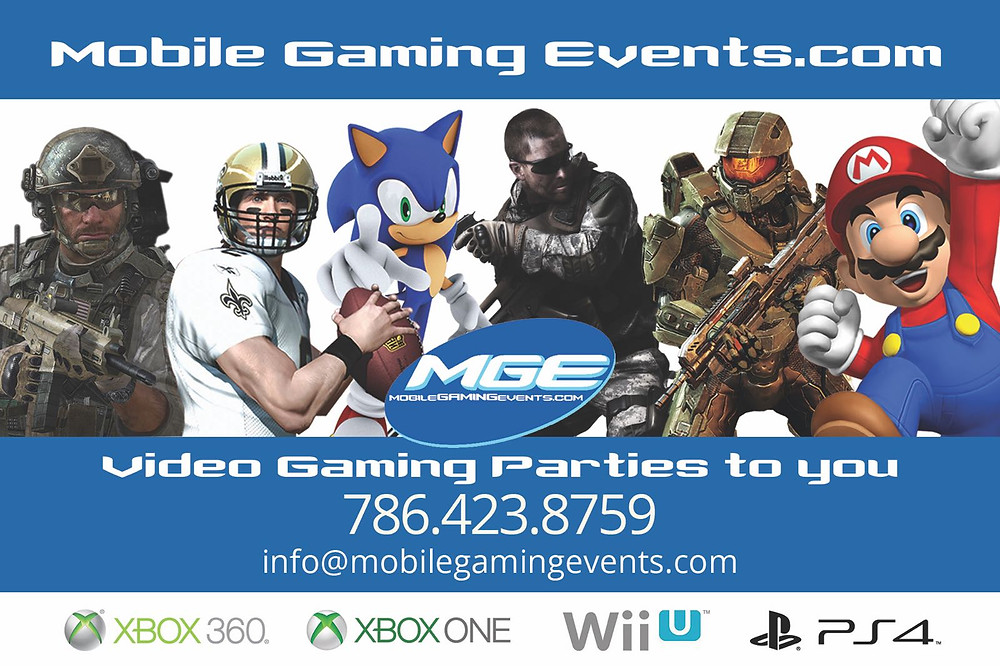 Mobile Gaming Events Game Truck
