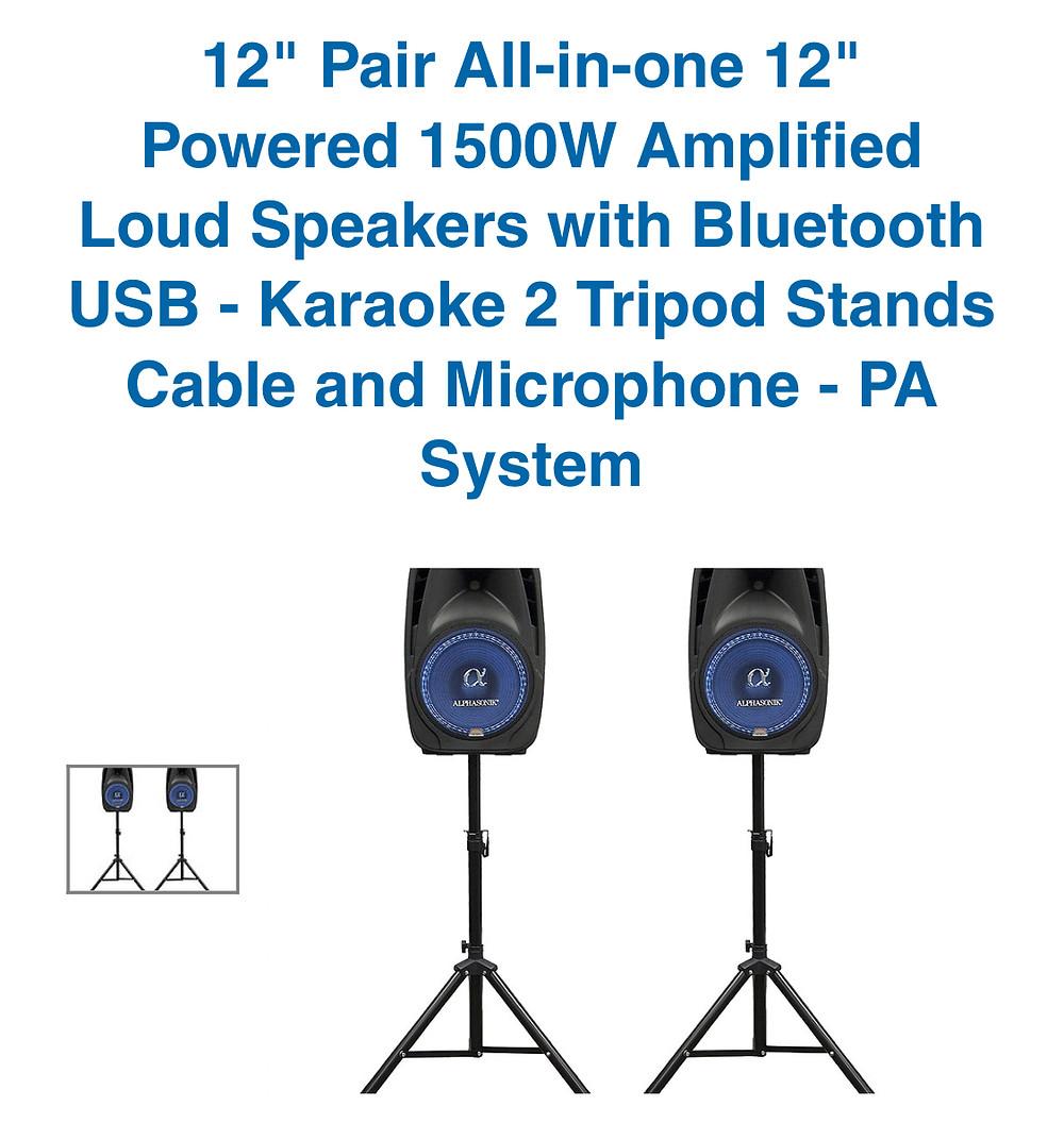 Bluetooth Speaker for rent in miami 305-741-5028