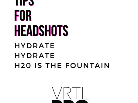 What to do before a Headshot Session?