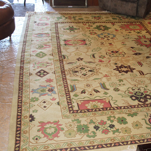 Indian Soumak Flat Weave Rug