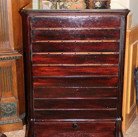 Antique Mahogany National Cash Register Stand